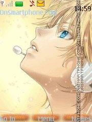 Kagamine Len theme screenshot