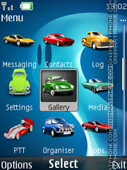 Car Icons theme screenshot