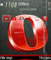 Opera 05 es el tema de pantalla
