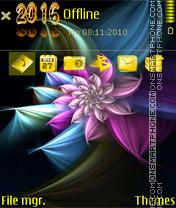The flower in dream-3rd es el tema de pantalla