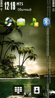 Paradise 05 theme screenshot