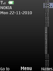 Black 828 theme screenshot
