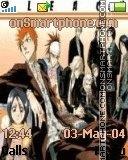Bleach manga es el tema de pantalla