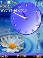 Camomile Clock es el tema de pantalla