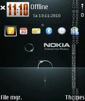 Nokia 7235 es el tema de pantalla