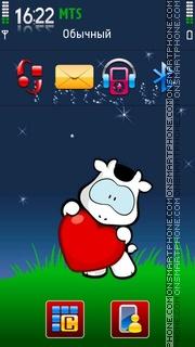 Miss u 03 es el tema de pantalla