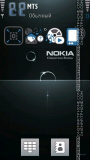 Nokia 3d theme screenshot