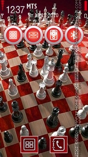 Chess Theme theme screenshot