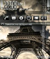 Eiffel Tower by Afonya777 es el tema de pantalla