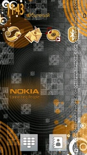Nokia 7236 theme screenshot