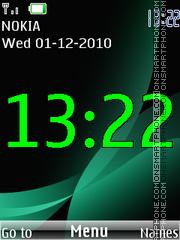 Clock 308 theme screenshot