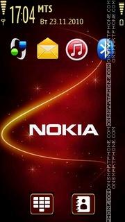 Nokia With Tone 04 es el tema de pantalla