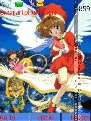 Sakura Christmas 2 theme screenshot