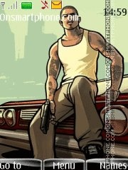 Gta San Andreas 09 es el tema de pantalla