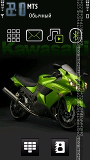 Kawasaki 04 theme screenshot
