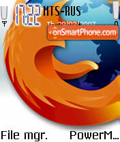 Firefox 01 theme screenshot
