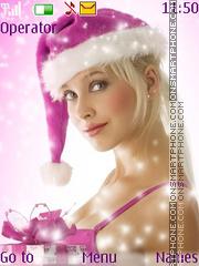 Christmas Girl es el tema de pantalla