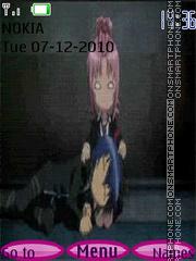 Amu i Ikuto tema screenshot