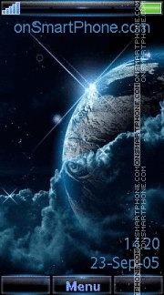 Space 18 es el tema de pantalla