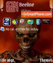 Dead Skul es el tema de pantalla
