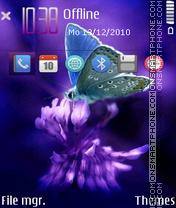 Butterfly By Afonya777 es el tema de pantalla