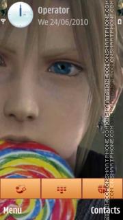 Cloud lollipop theme screenshot