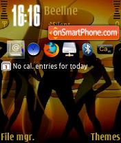 Girls QVGA theme screenshot