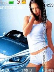 Mazda RX8 & Girl es el tema de pantalla