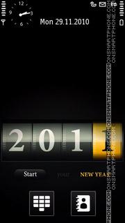 Happy New Year 2011 04 theme screenshot