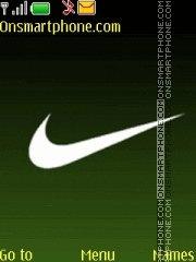 Nike green theme screenshot