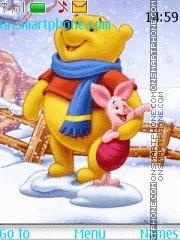 Christmas Pooh Bear es el tema de pantalla