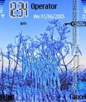 Blue winter es el tema de pantalla