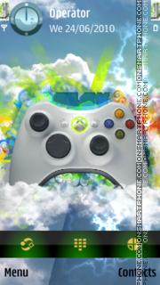 XBox360 theme screenshot