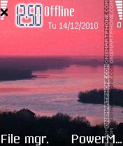 Red river es el tema de pantalla