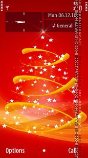 Merry Christmas 21 theme screenshot