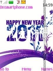 Happy New Year 2011 06 es el tema de pantalla