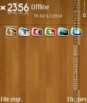 Wood 04 theme screenshot