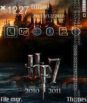 Harrypotter 7 theme screenshot