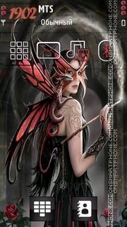 Magical Fairy theme screenshot