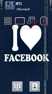 Facebook 02 theme screenshot