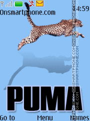 Capture d'écran Puma blue 11 thème