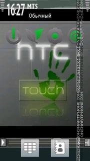 Htc Touch 01 tema screenshot