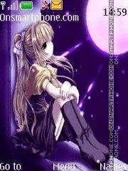 Anime Moon theme screenshot
