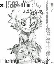 Chibi ichigo theme screenshot