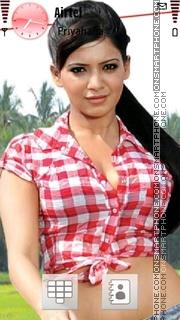 Samantha Ruth Prabhu theme screenshot