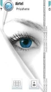 Blue Eye 02 theme screenshot