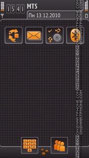 Beautiful Grey theme theme screenshot
