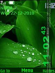 Leaf theme theme screenshot