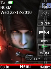 Final Fantasy 08 theme screenshot
