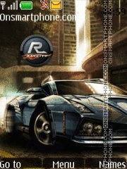 Nfs With Tone 11 tema screenshot